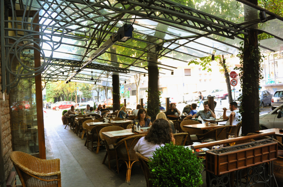 Restaurant Dorian Gray Garden