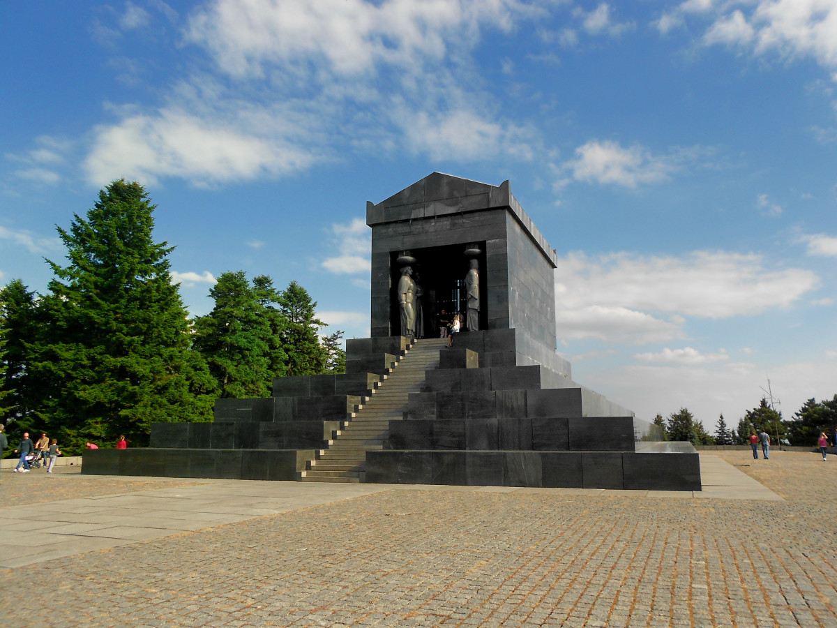 The Monument to the Unknown Hero is a World War I memorial located atop Mount Avala,