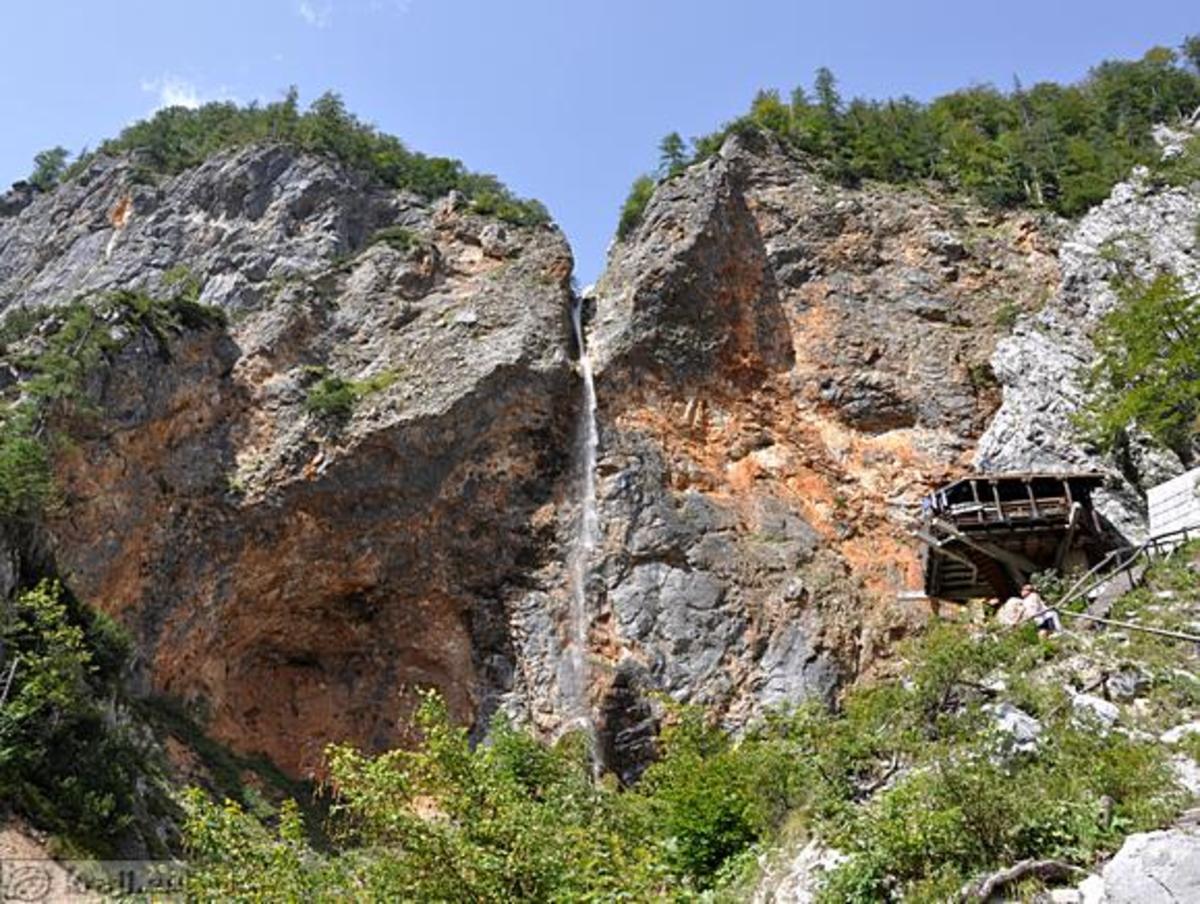 Logar Valley with Rinka Fall