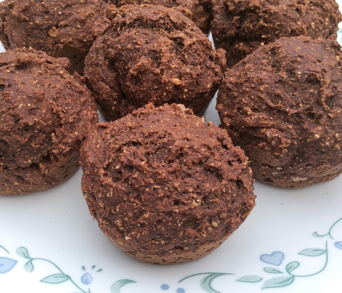 "Muffins made with one hundred percent whole wheat flour often have a ""rustic"" look."