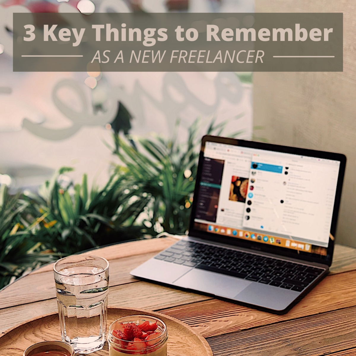 Here are three things I wish someone told me when I first started out as a freelance writer.