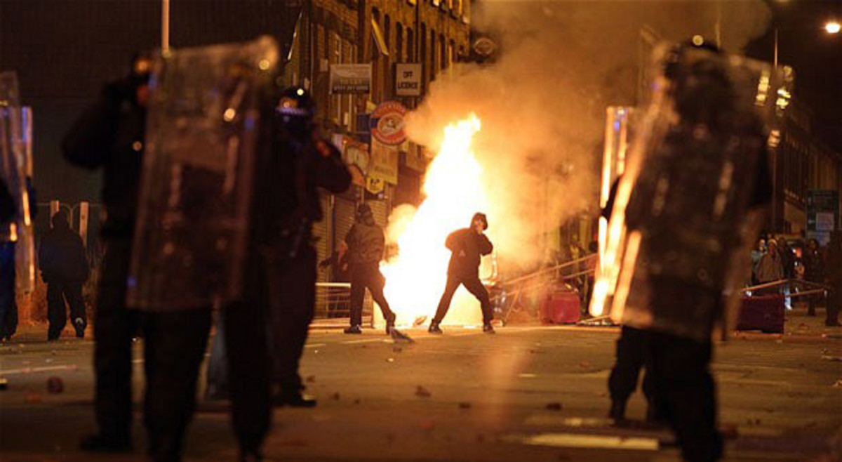 Riots of 2011: a society in flames