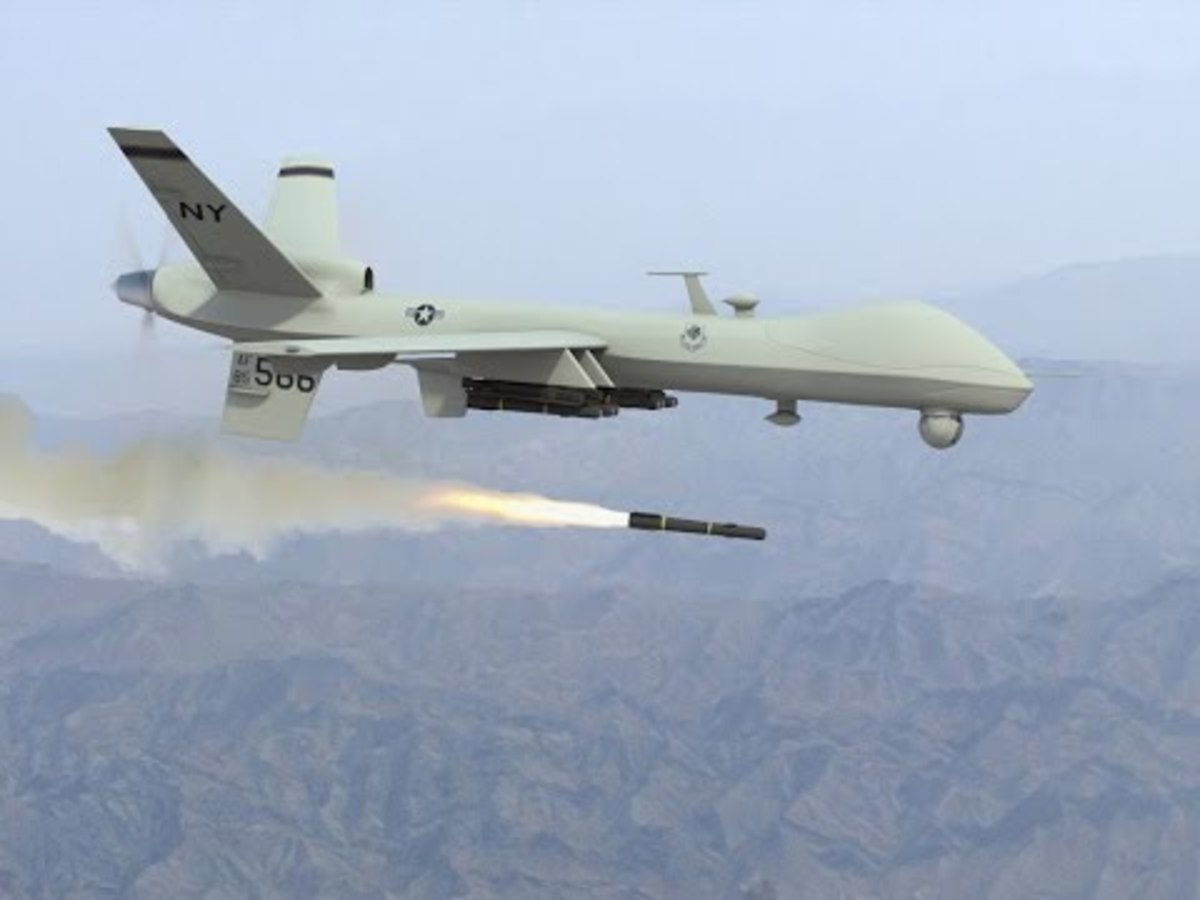 US Admits Offensive-Capable US Drone Was in Area When Tanker Was Hit by
