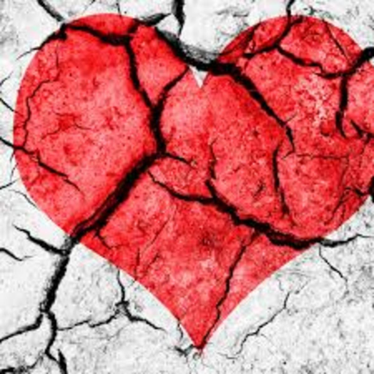 Living With a Broken Heart Love Hurts