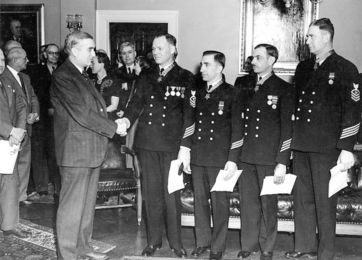 Medals of Honor Presented