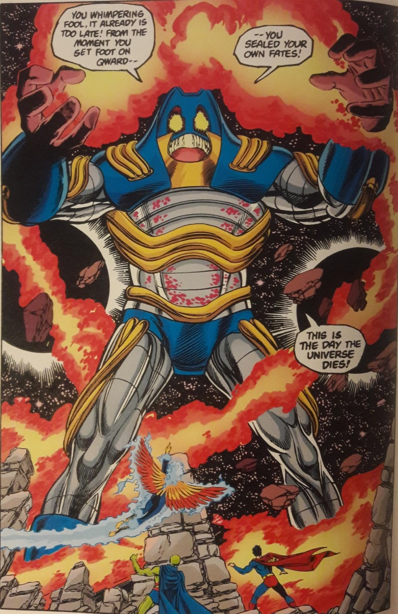 The Anti-Monitor: Detests screens
