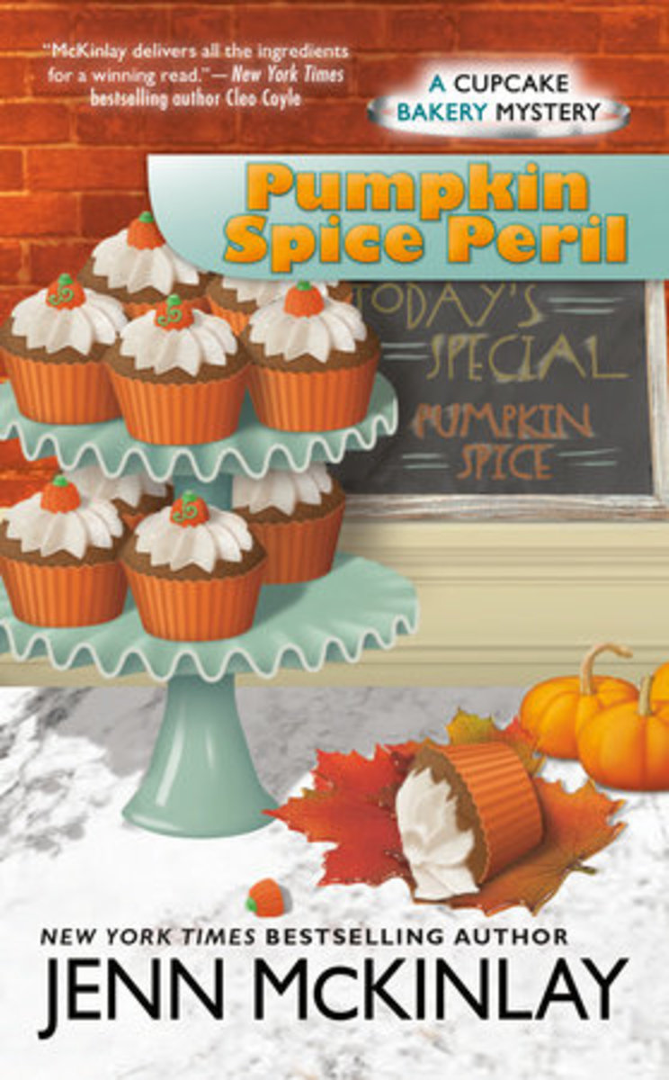 Book Review: Pumpkin Spice Peril by Jenn McKinlay