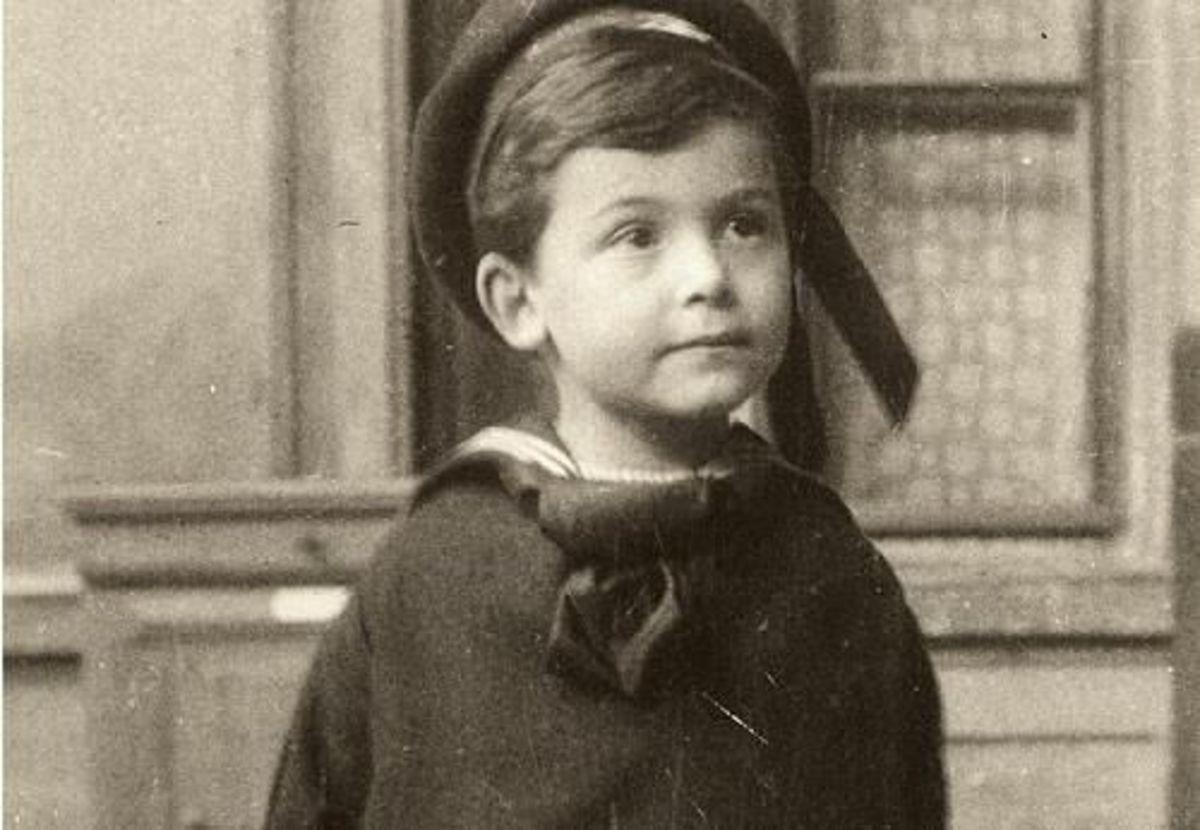 William Jame Sidis as a child