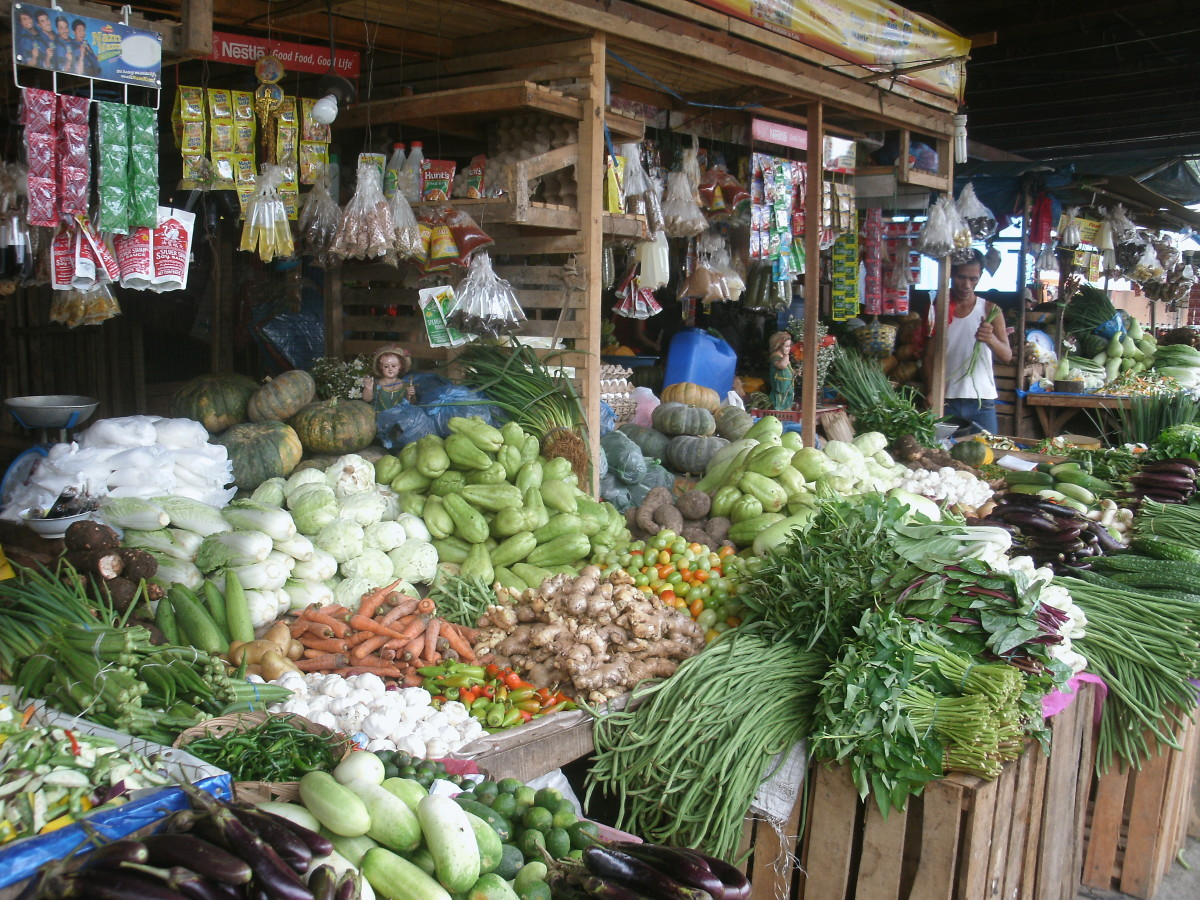Vegetable Market, Philippines