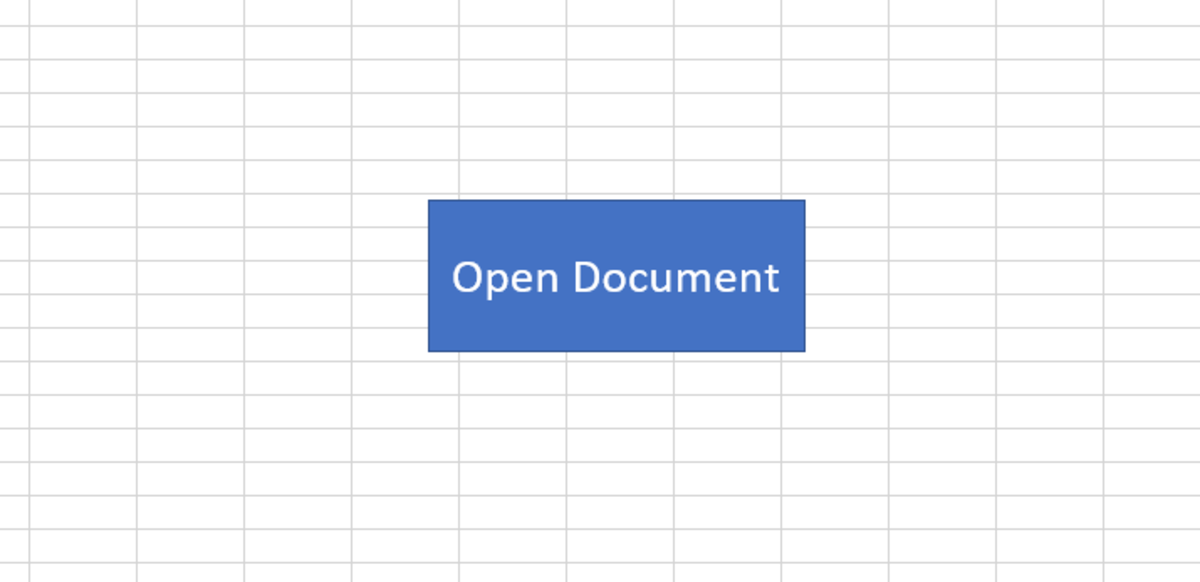 Using a button to open up other documents can save some time and keep you more organized.