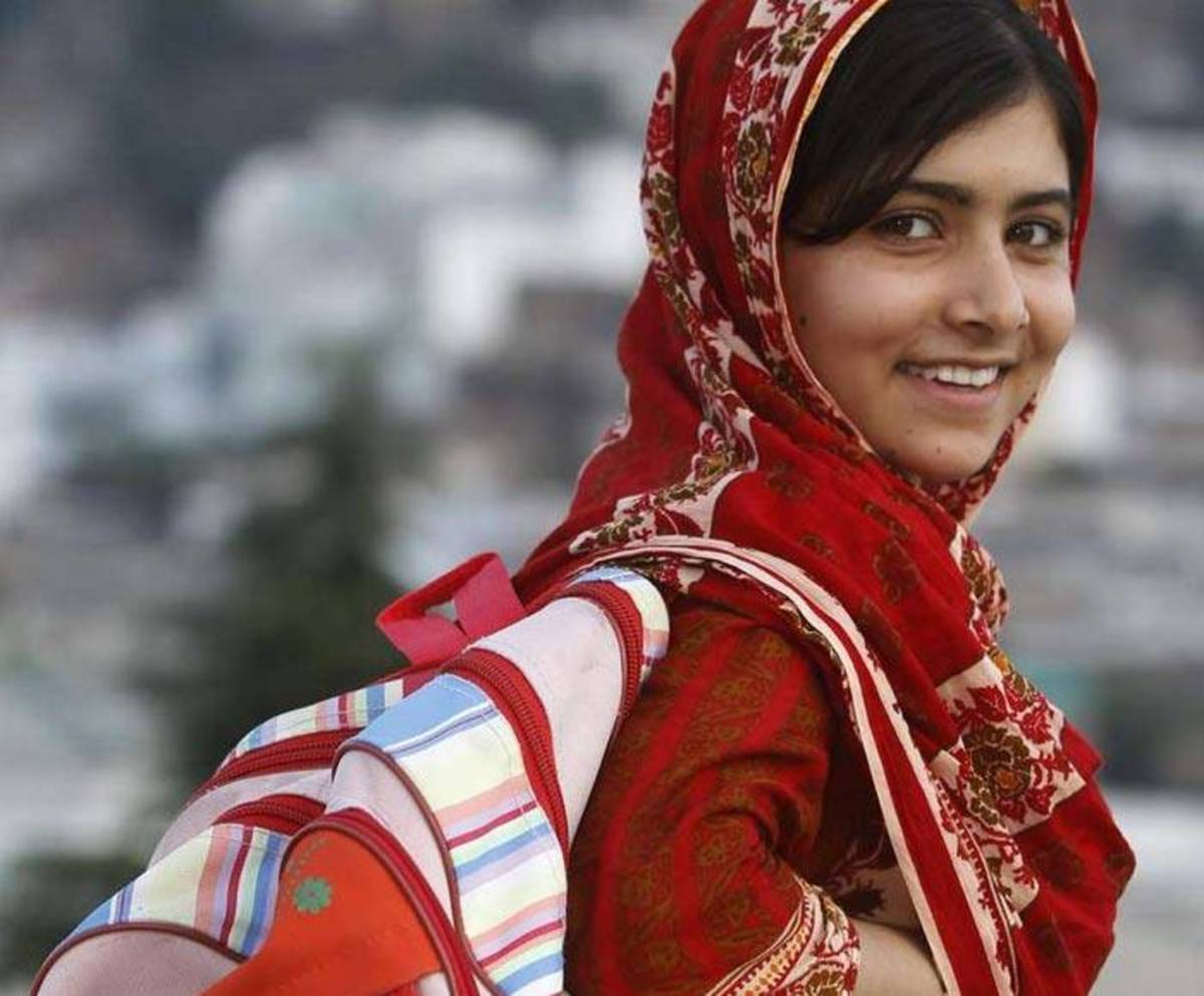 Malala Yousafzai - a brave woman who worked for spreading education to women in Pakistan. In this film, women are conversely portrayed as the allies of the religious rebels against the brutal Soviet army.
