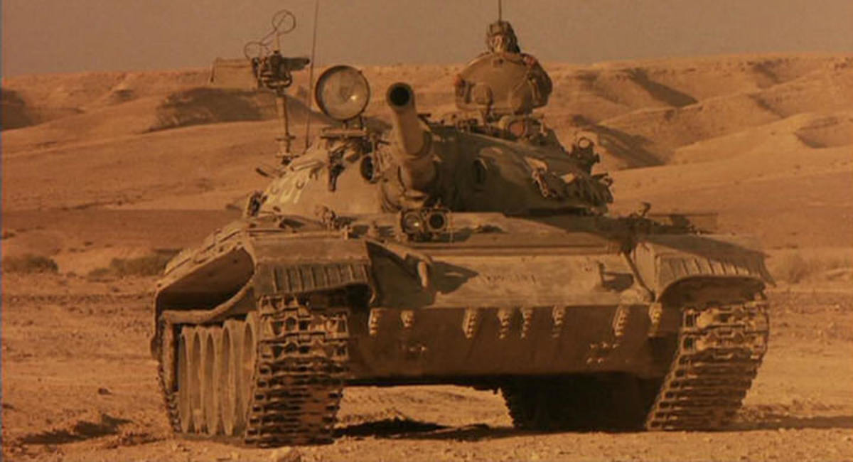 The movie's aesthetic elements are magnificently done, including the usage of real T-54s, purchased from Israel, for the filming.