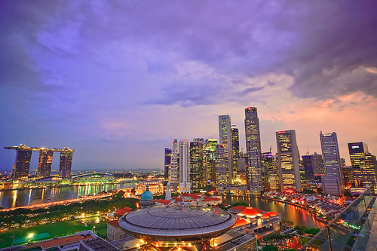 Singapore with its well-developed property market is a good place to find real estate jobs