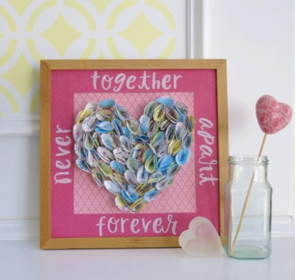Diy Craft Tutorial Heart Valentine For Long Distance