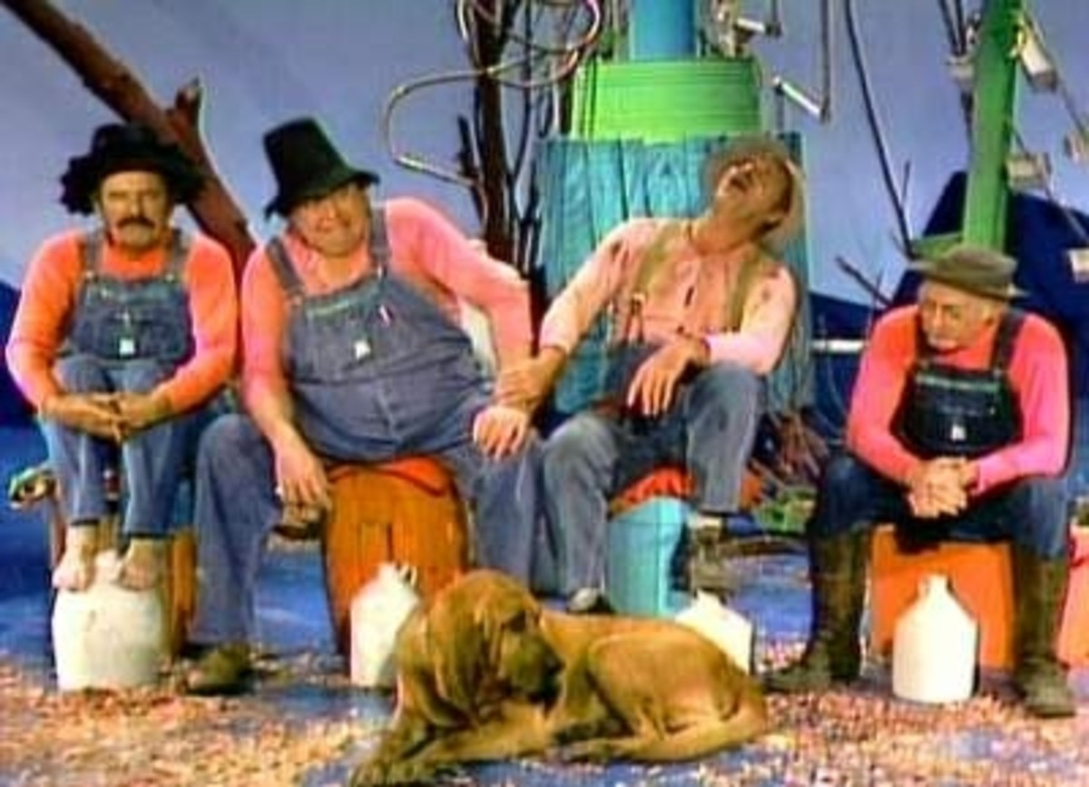 """""""GLOOM, DESPAIR AND AGONY ON ME...OOOH-OOOO...DEEP, DARK DEPRESSION...EXCESSIVE MISERY...OOOH-OOOO!""""  From the TV Show """"Hee-Haw"""" (1969 -1992) What a Great """"Country-themed"""" Variety Show!"""