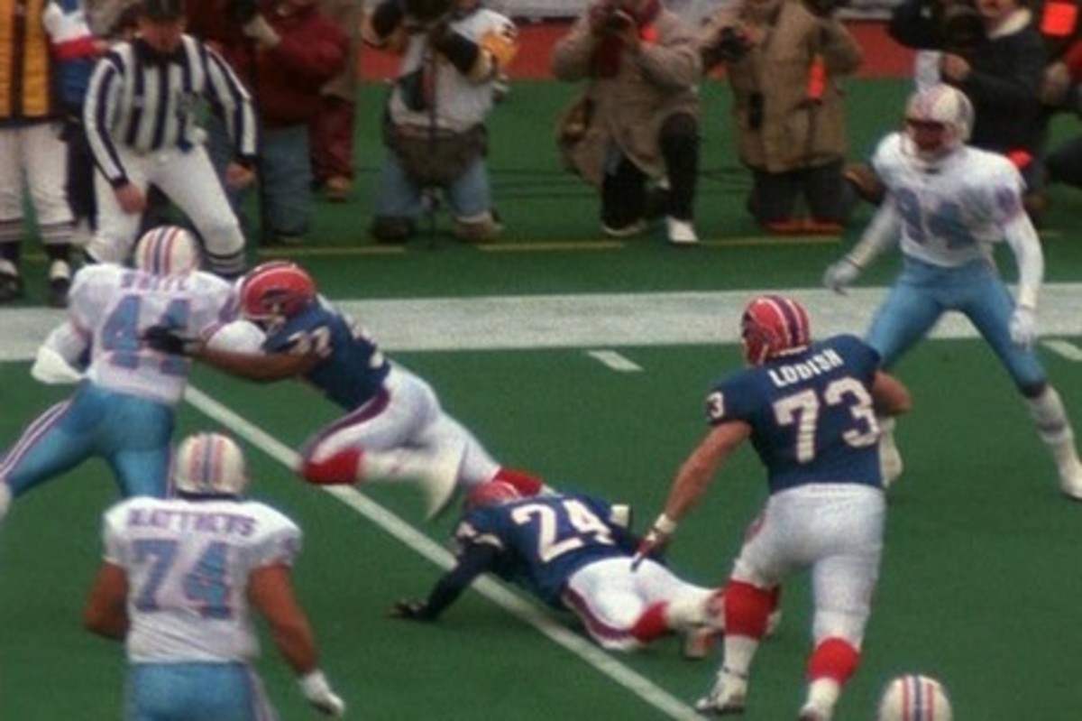 An Upsetting Loss to Buffalo Bills in a 1993 AFC Play-off game...after the Oilers had pretty much clinched the game at 1/2 time...has made a lasting impression in Houston Sports...and NFL History reels...that has been a hard thing to forget!