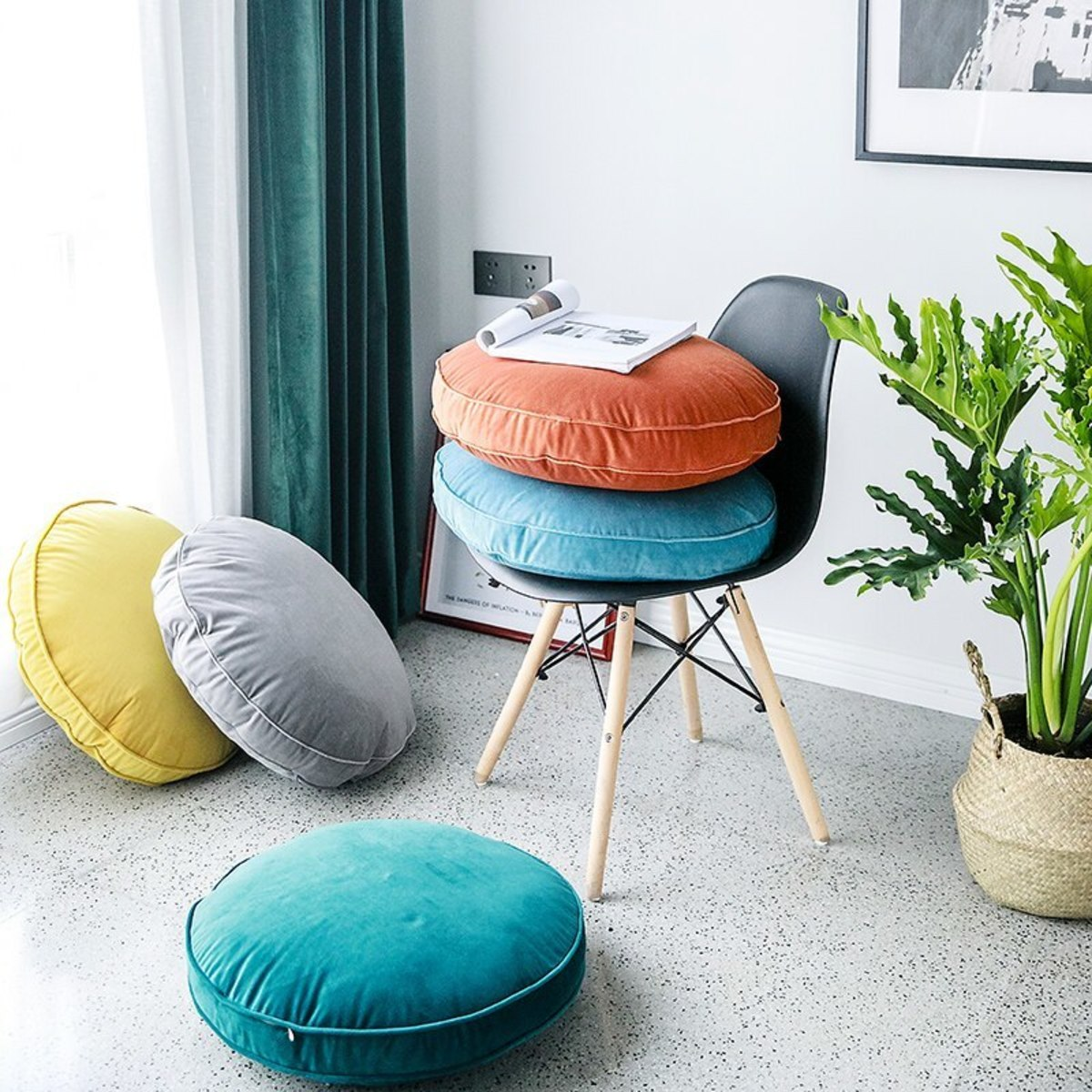 how-to-choose-round-chair-cushions