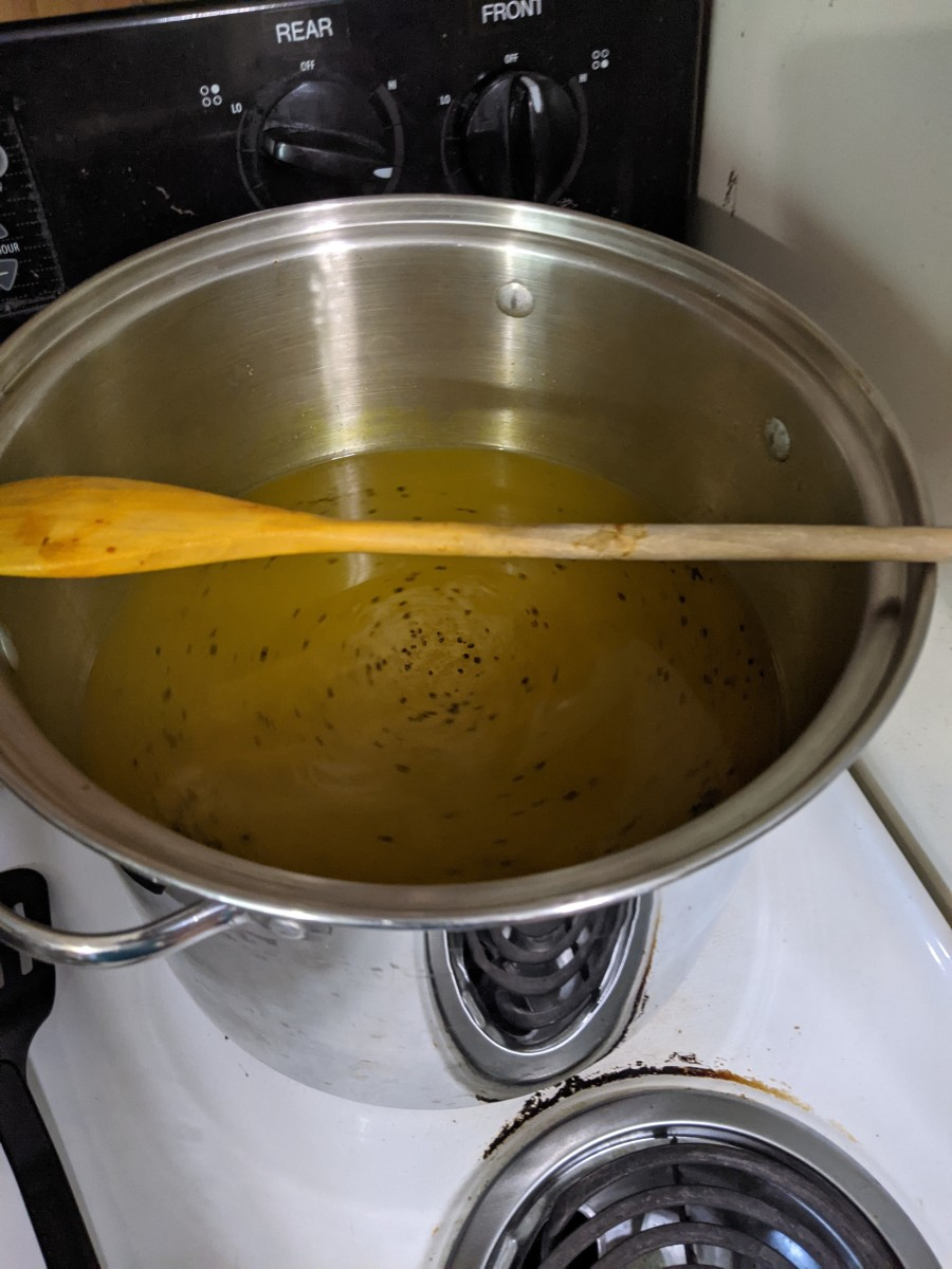 mix and cook brine