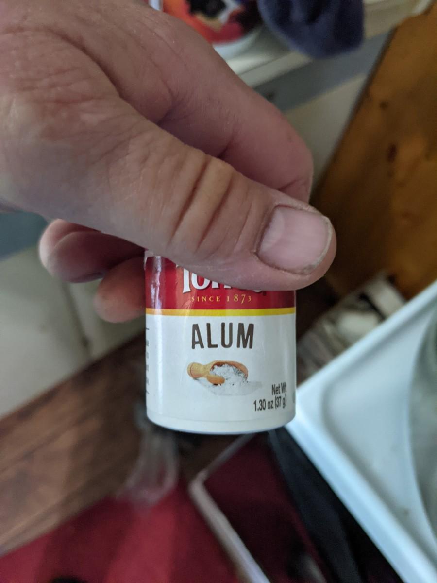 1/8 teaspoon per jar to make crispy