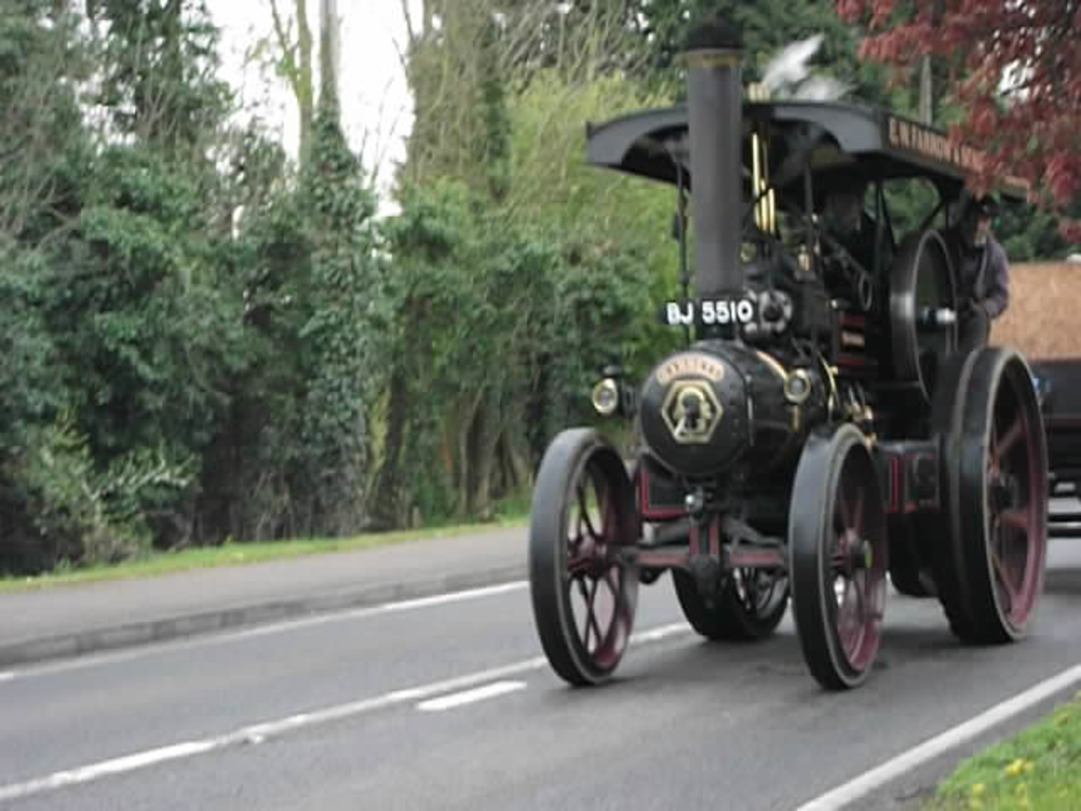 The Adventurer Traction Engine Was Built By Garrett in 1918.