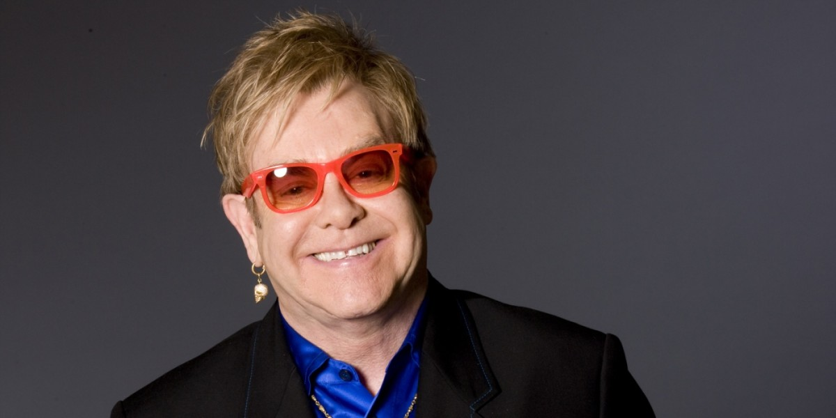 Gay Celebrities and Icons - The Many, Amazing Glasses of Sir Elton John, With Discography