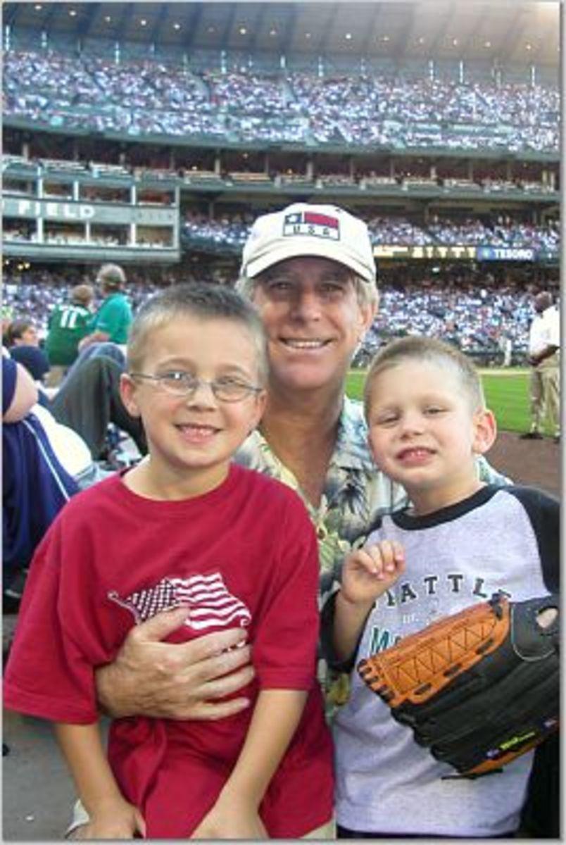 Baseball memories with Grandpa