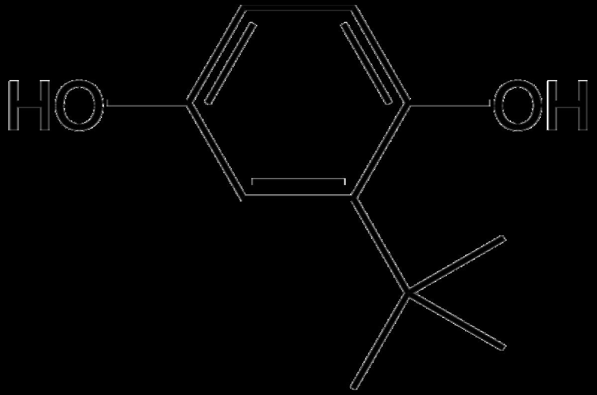 Tert-butyl hydroquinone formula