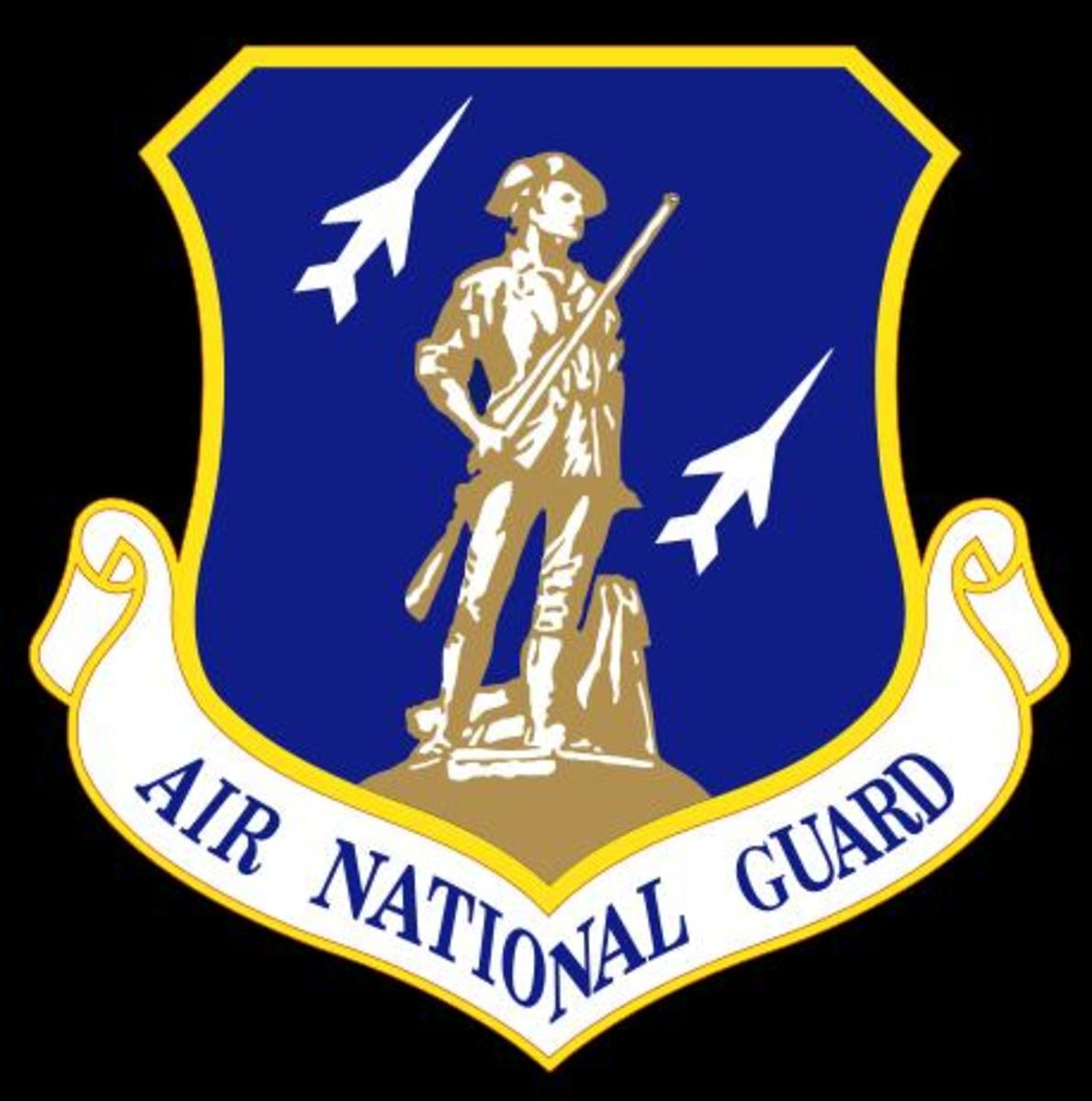 Logo of the Air National Guard (Public Domain Photo, courtesy of WikiPedia.org  http://en.wikipedia.org/wiki/File:Air_national_guard_shield.svg)
