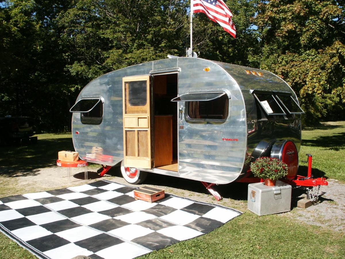 Vintage trailer rehab.