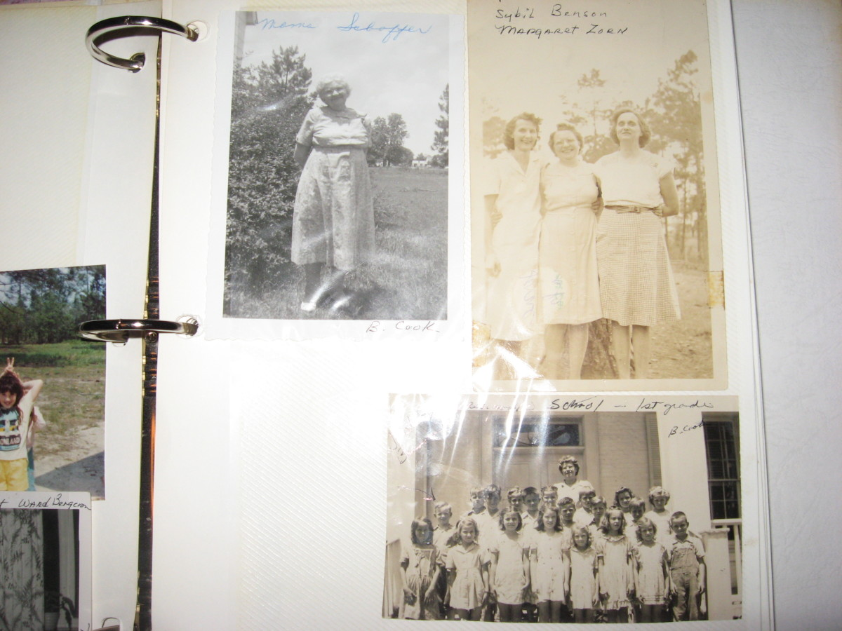 Family history is very important to me.