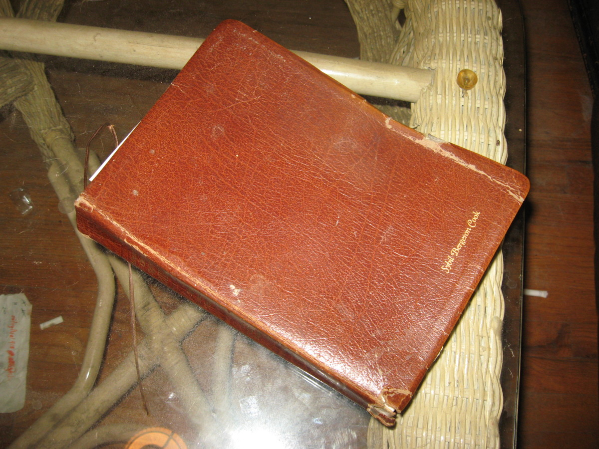 Old family Bibles often contain information about ancestors.