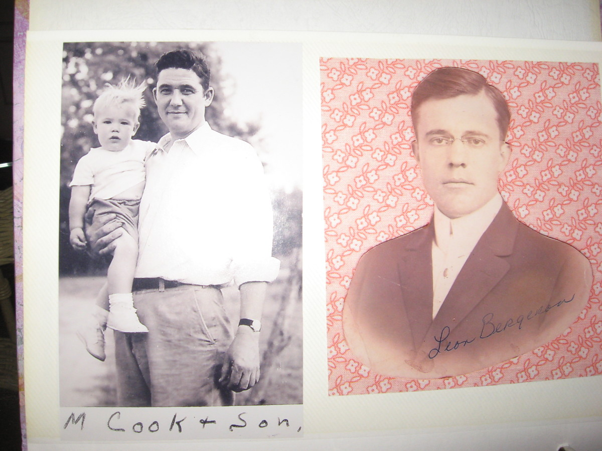 Photo albums can add a lot to your family stories.