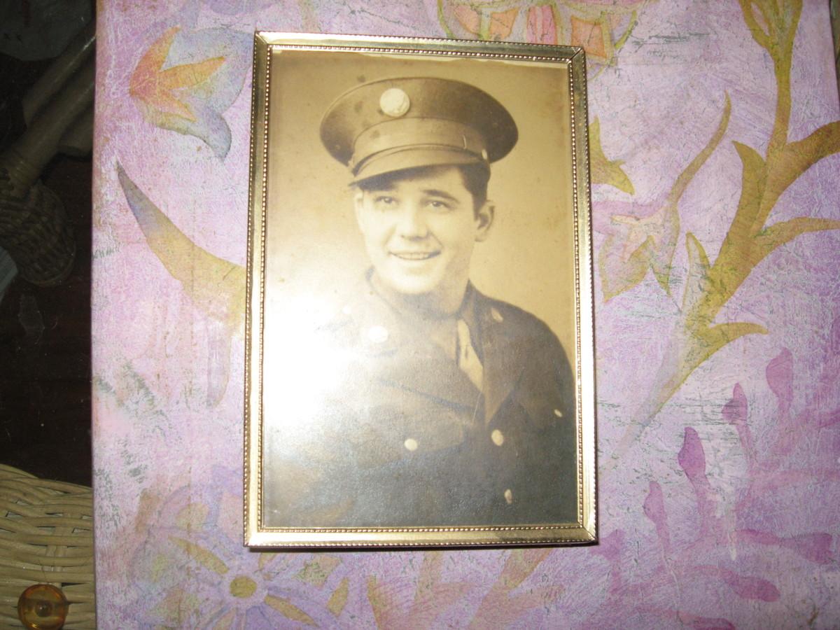 Dad in his World War II uniform.