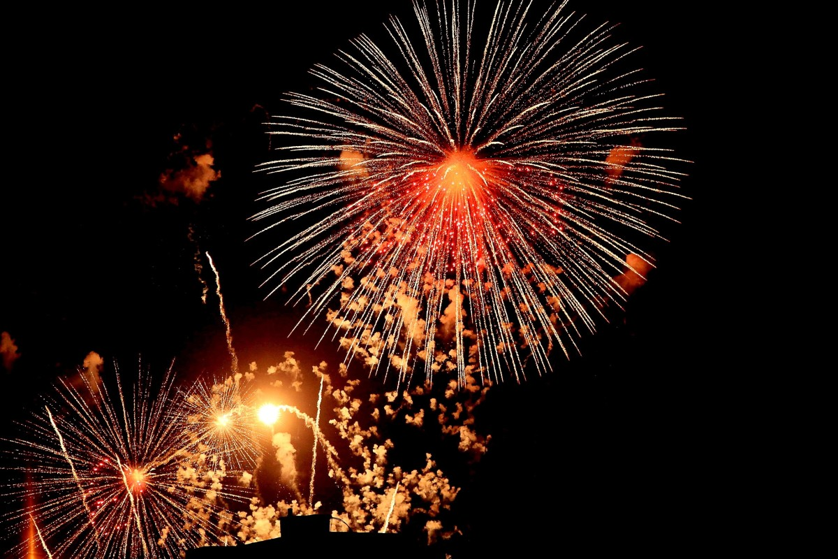 A firework display seems like a suitable welcome for the Phoenix.