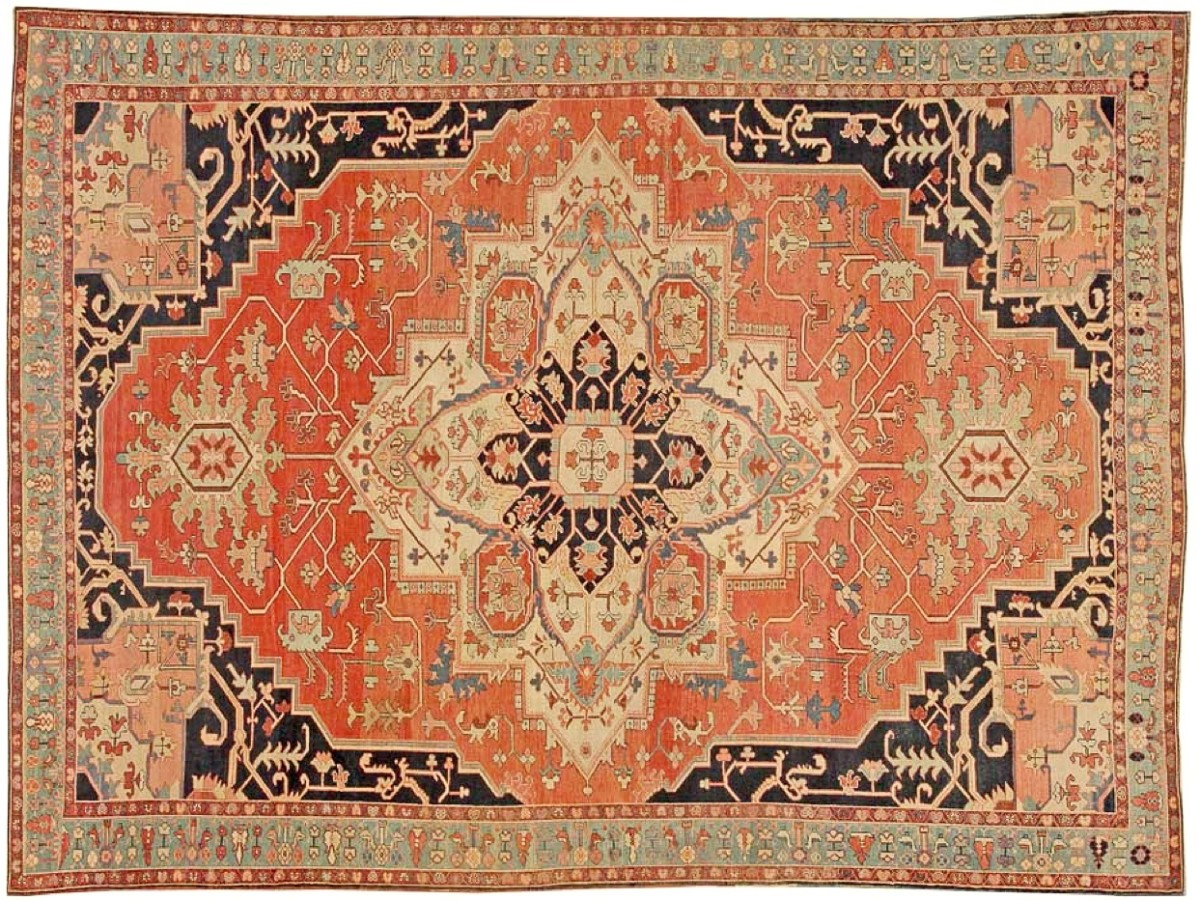A lovely antique Persian carpet