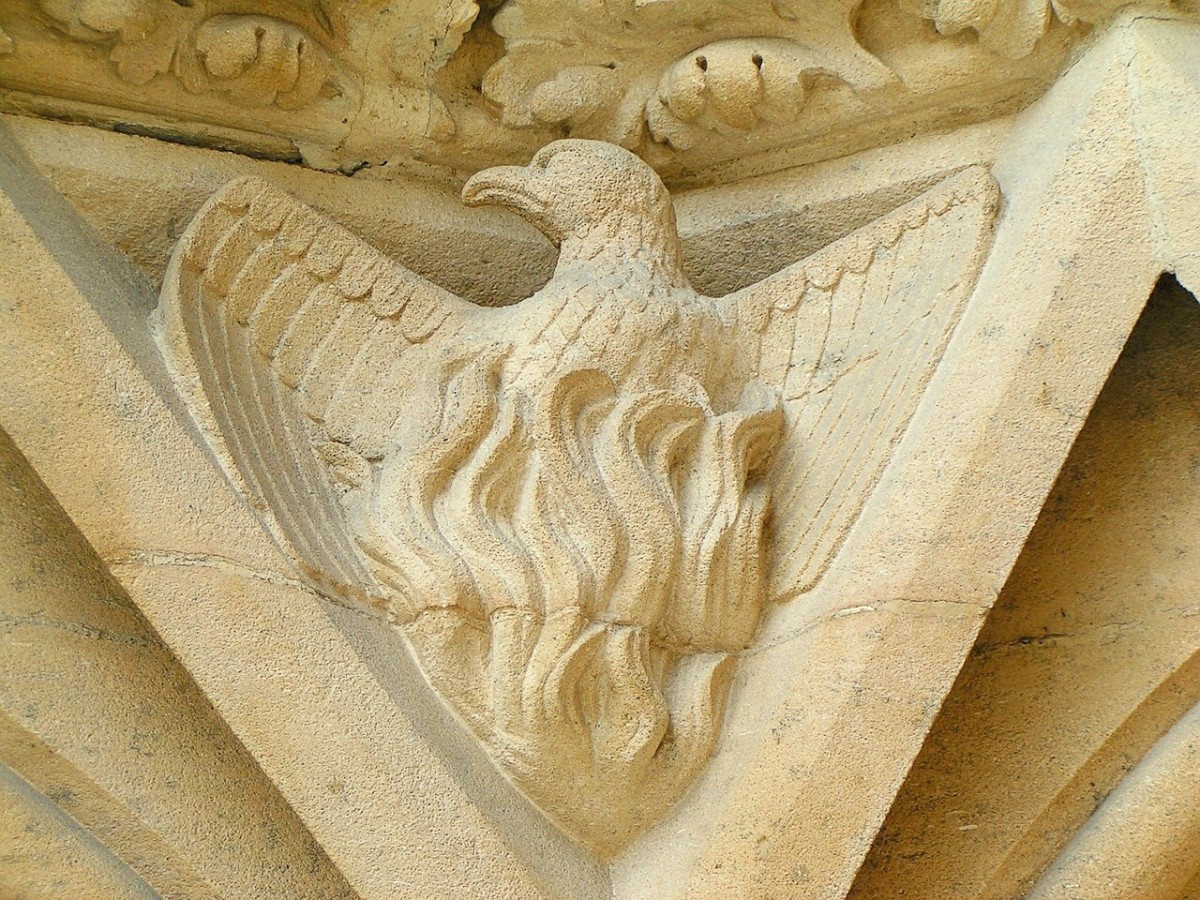 Since the phoenix regenerates, it has been linked to Christianity.