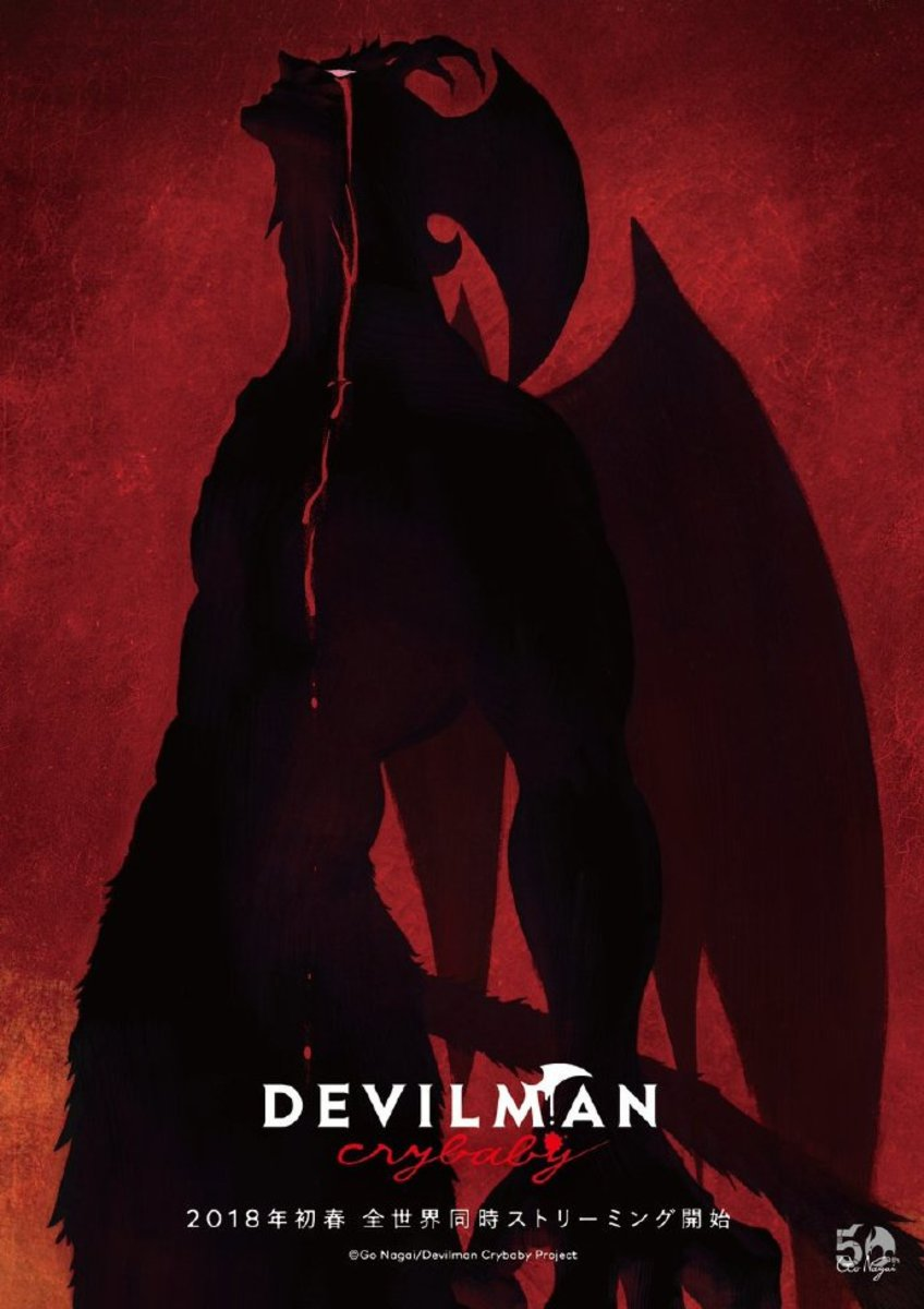 Promotional artwork for Devilman Crybaby.