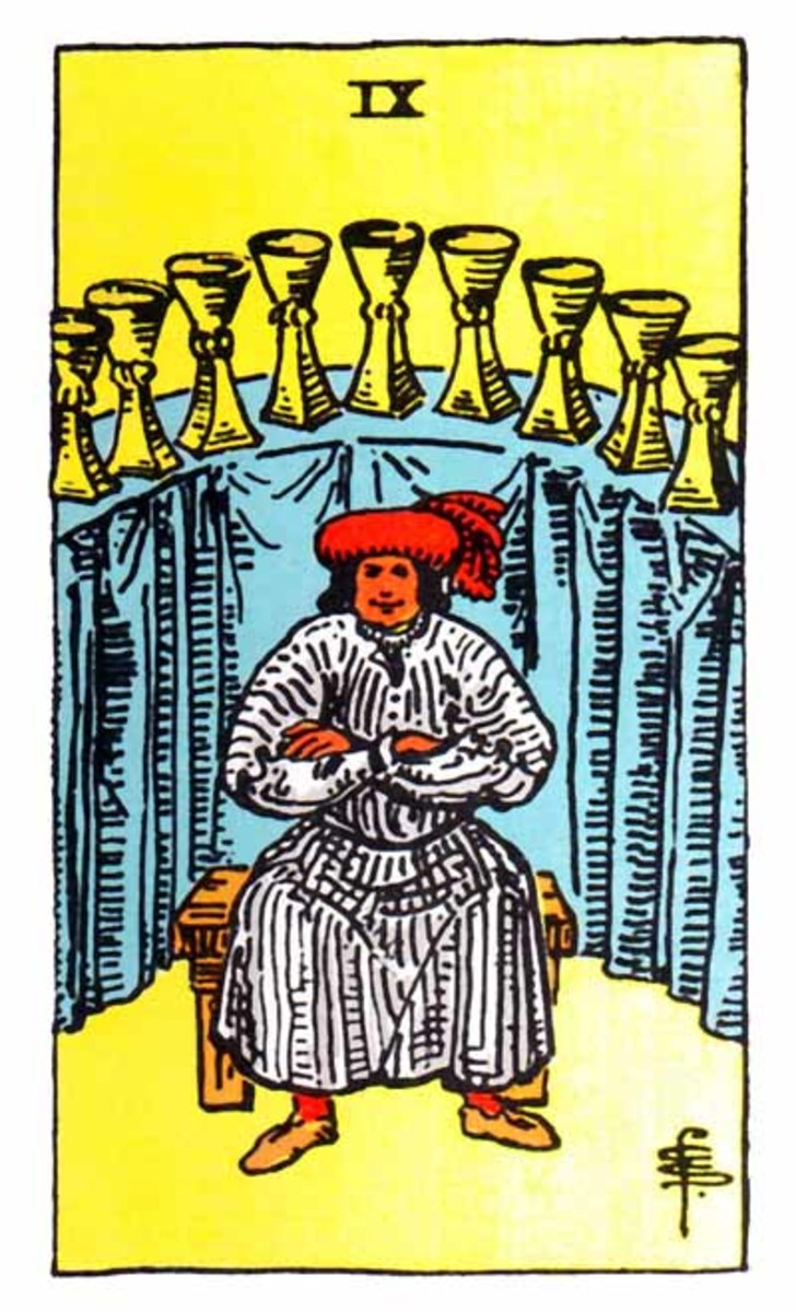 This is a great card to receive in a Tarot reading. It means you're showing emotional maturity and have a good handle on your ego.