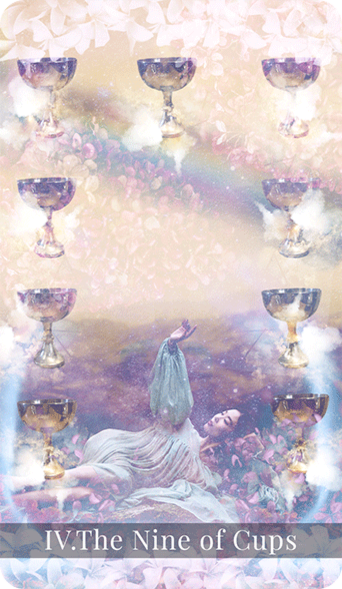 The Nine of Cups indicates you're in a good alignment with your wishes. You're putting in the right effort, and you're focused. You'll get good results with your efforts. This will turn into contentment.