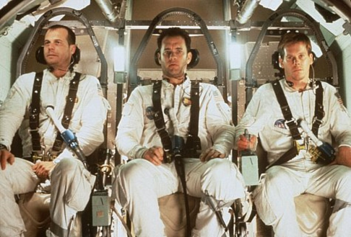 Bill Paxton, Tom Hanks and Kevin Bacon