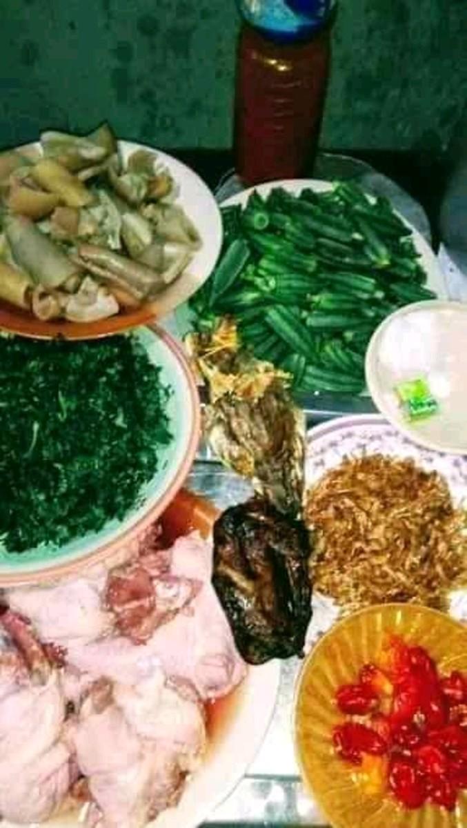 ogbono soup items