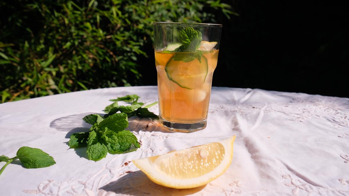 Easy iced tea recipe with English Breakfast tea