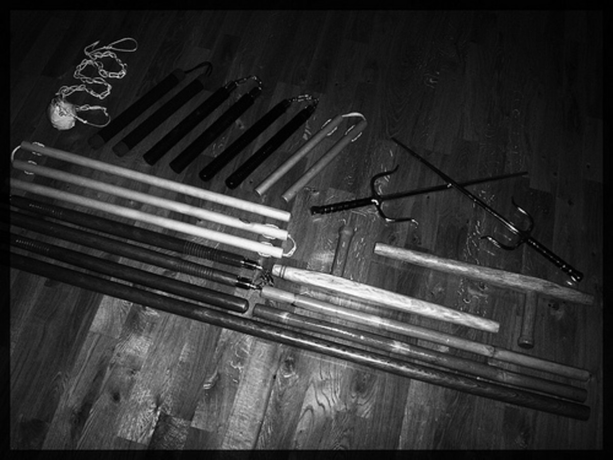 Various Ninja weapons