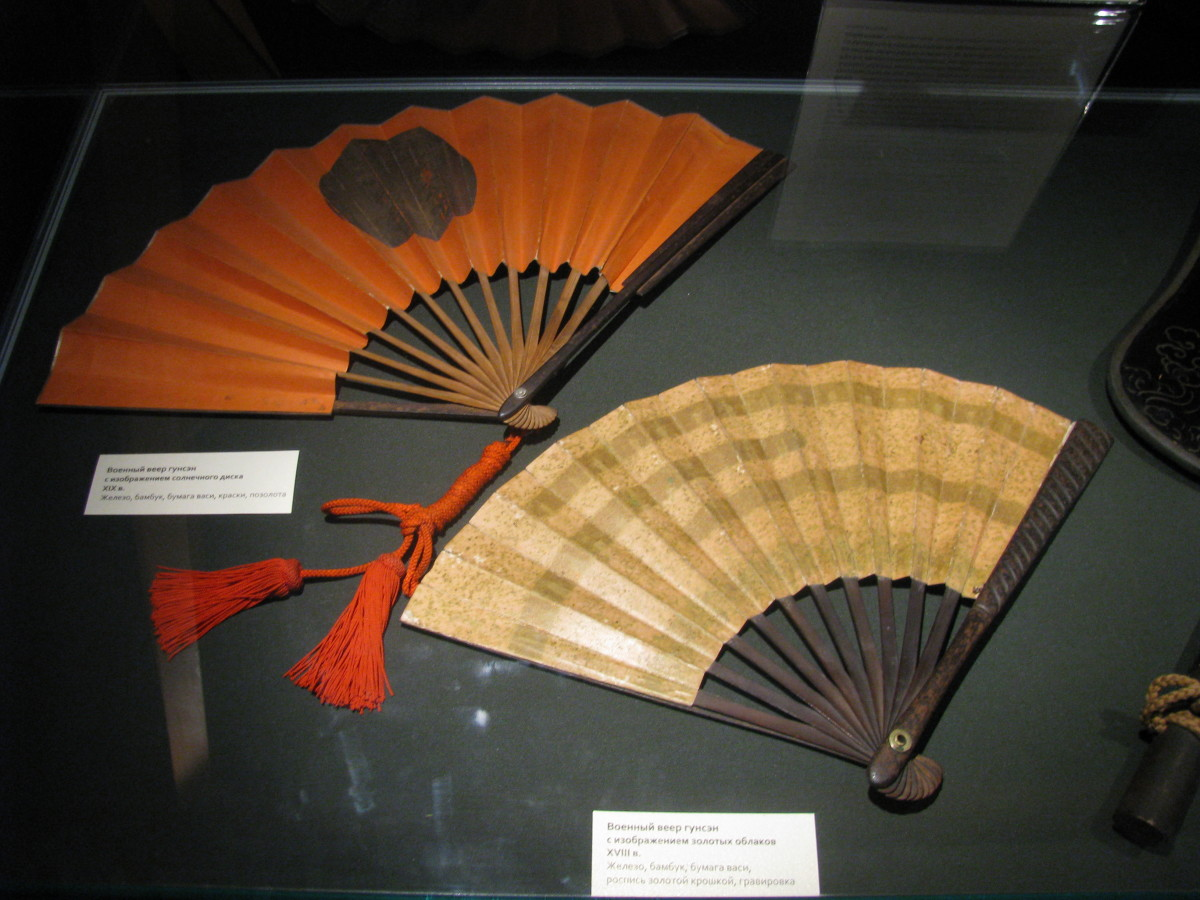Japanese gunsen war fans