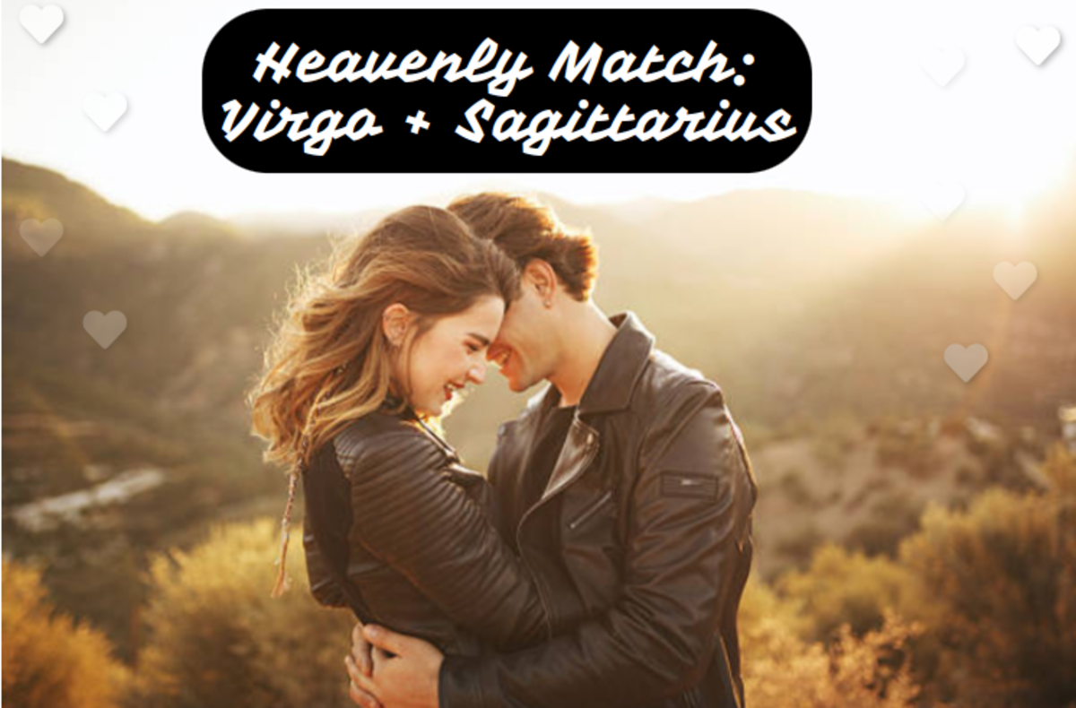 Virgo loves to work and Sagittarius loves to play. Virgo has high expectations; Sagittarius wants someone who lets them be spontaneous. Sometimes this coupling is only meant for a short while. Other times it's too special to let go.