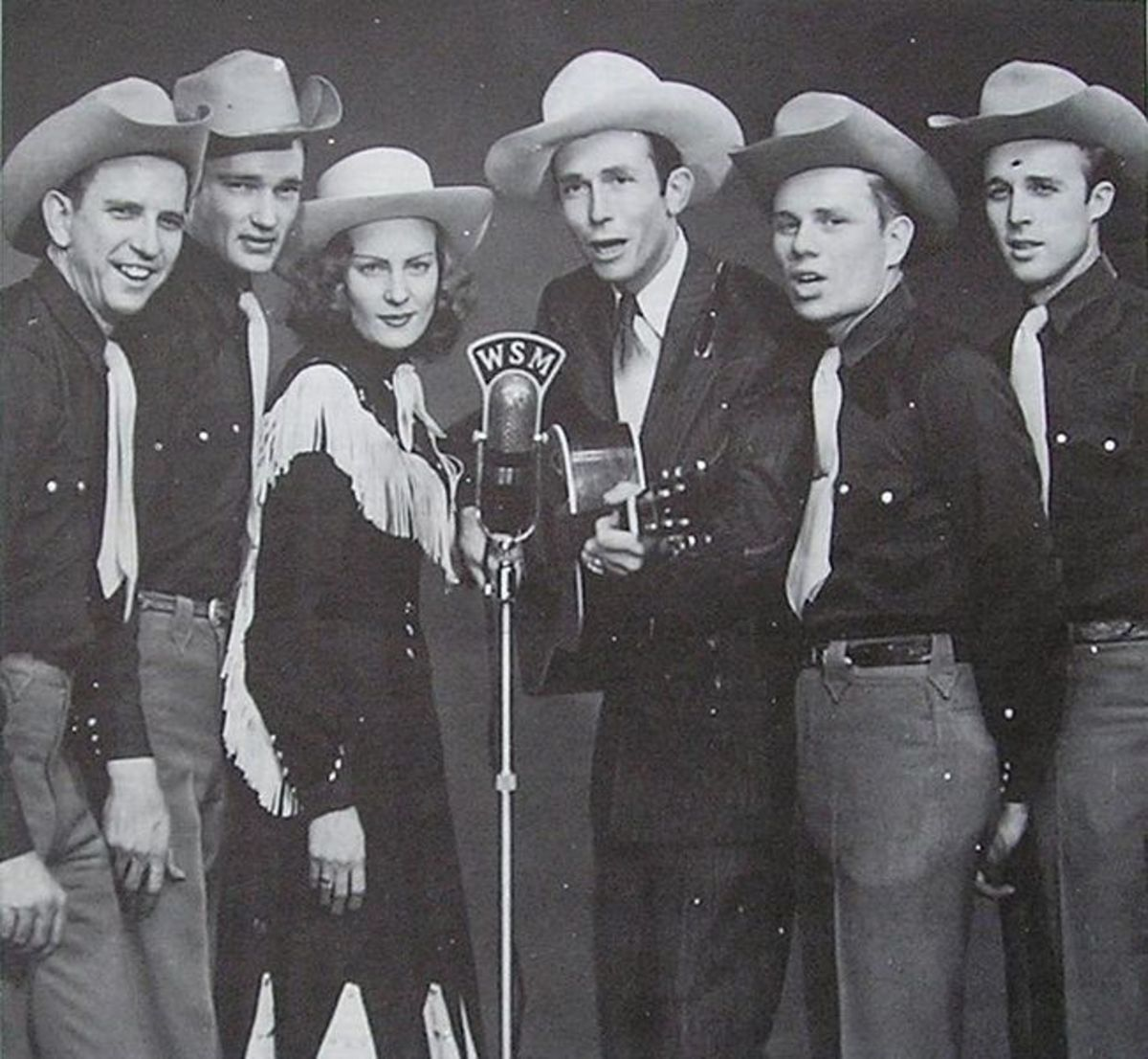 Hank Williams, Audrey Sheppard Williams, and the Drifting Cowboys Band (1951-MGM Records)