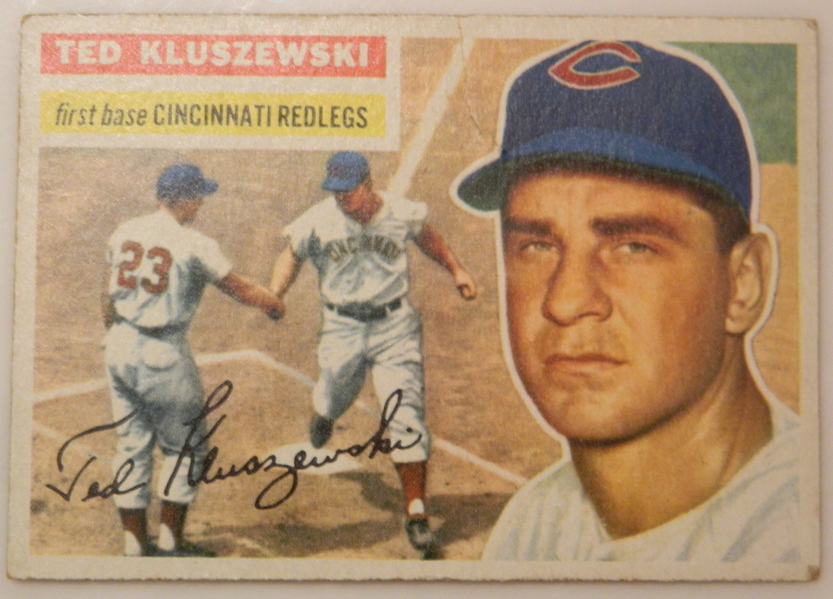 My son found this 1956 Ted Kluszewski under the Christmas tree this year.