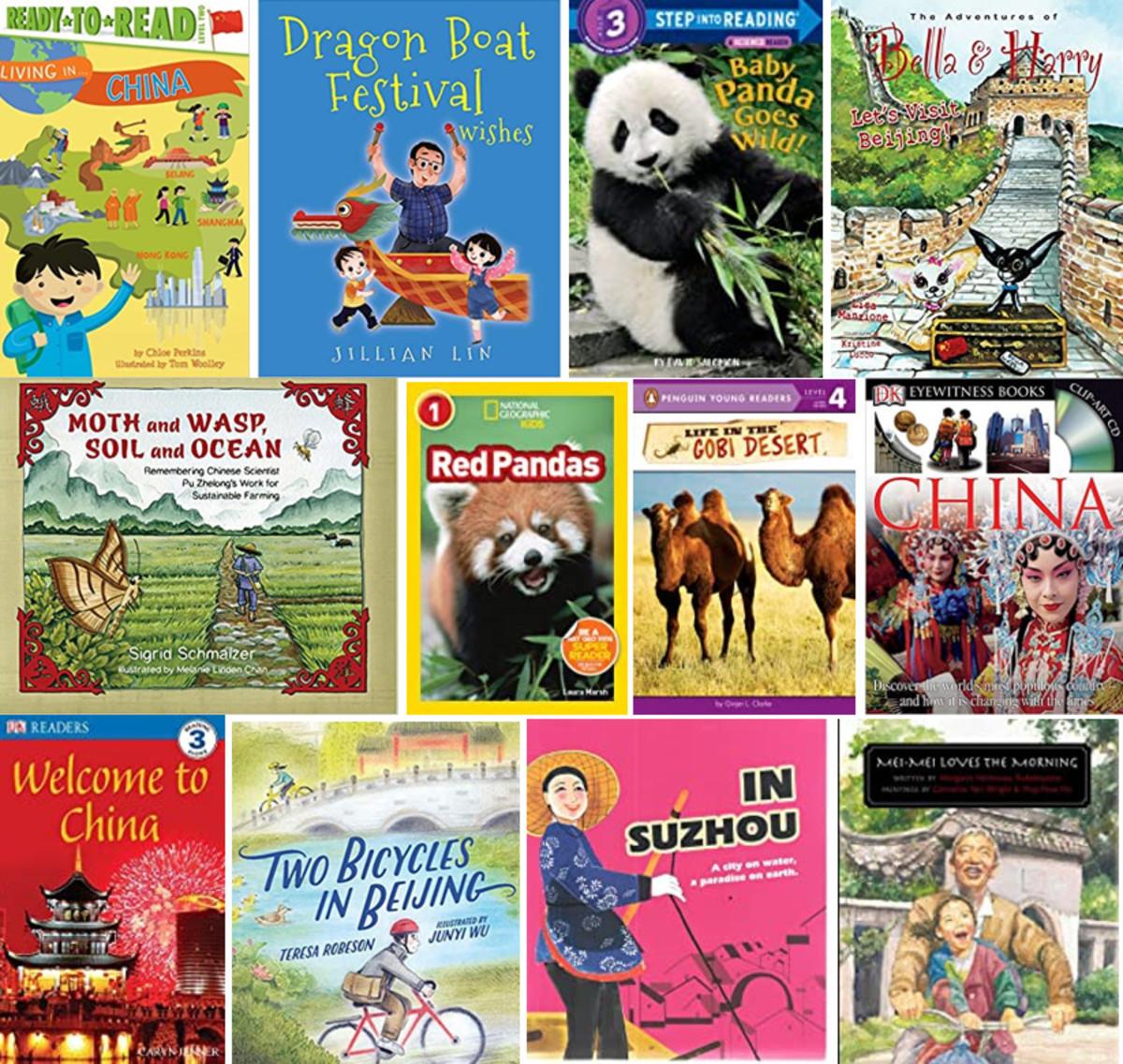 Best Children's Books List on Modern China