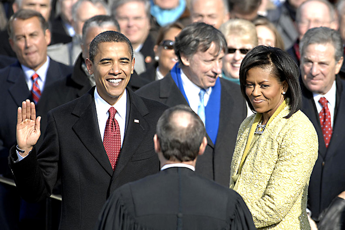 2009. The inauguration of Barack Obama. Whatever one's view about America, peaceful transfer of power after a free vote, with information freely available to all, can only happen in a democracy. That is undeniable