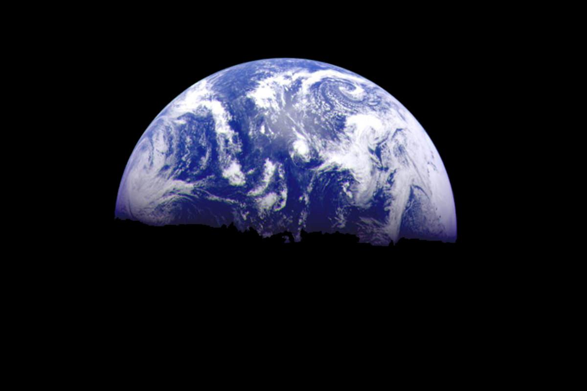 A Galileo image of Earth